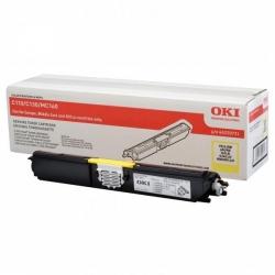 OKI originální toner 44250721, yellow, 2500str., OKI C110, 130n,