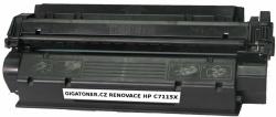 Renovovaný toner HP C7115X no. 15X 3500 stran