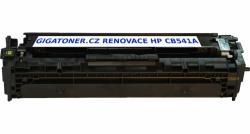 Renovovaný toner HP CB541A no. 125A 1400 stran azurový cyan