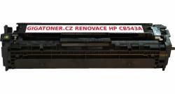 Renovovaný toner HP CB543A no. 125A 1400 stran purpurový magenta