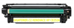 Renovovaný toner HP CE252A 7000 stran žlutý yellow HP Color Lase