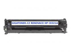 Renovovaný toner HP CE321A no. 128A 1300 stran azurový cyan CP15