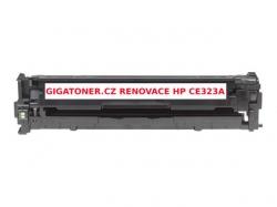 Renovovaný toner HP CE323A no. 128A 1300 stran purpurový magenta