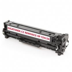 Renovovaný toner HP CE413A no. 305A 2600 stran purpurový magenta