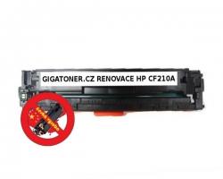 Renovovaný toner HP CF210A no. 131A 1600 stran černý black laser