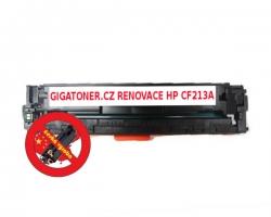 Renovovaný toner HP CF213A no. 131A 1800 stran purpurový magenta